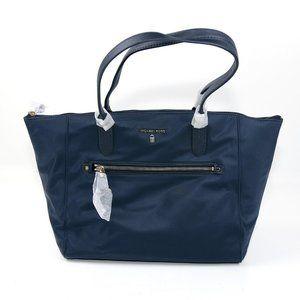 Michael Kors Blue Nylon Tote Bag